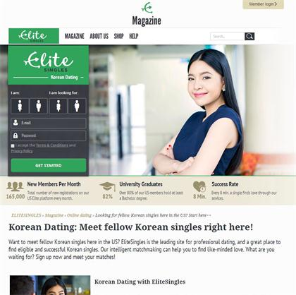 Korean dating site uk