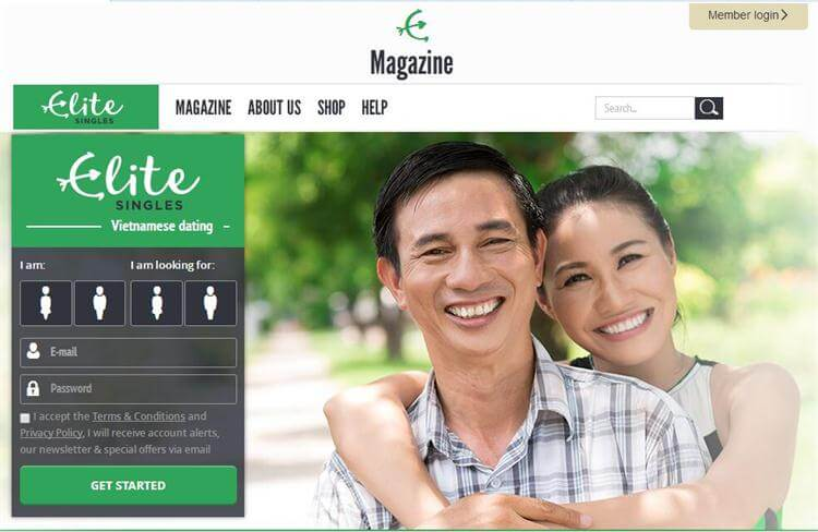 Vietnamese online dating site